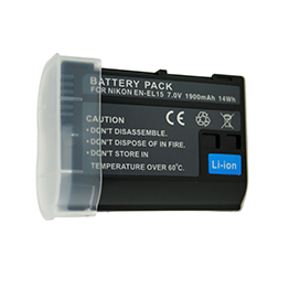 EN-EL15 Camera Battery for Nikon D500,D600,D610,D750,D7000