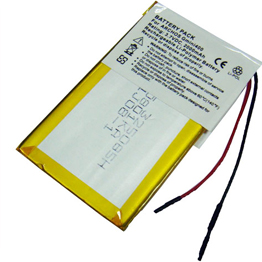 Rechargeable battery pack 3.7V 2000mAh  355085 replaces for Garmin GPS battery