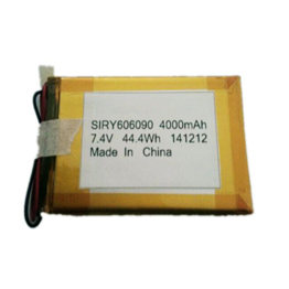 SIRY rechargeable lipo battery 606090 4000mAh